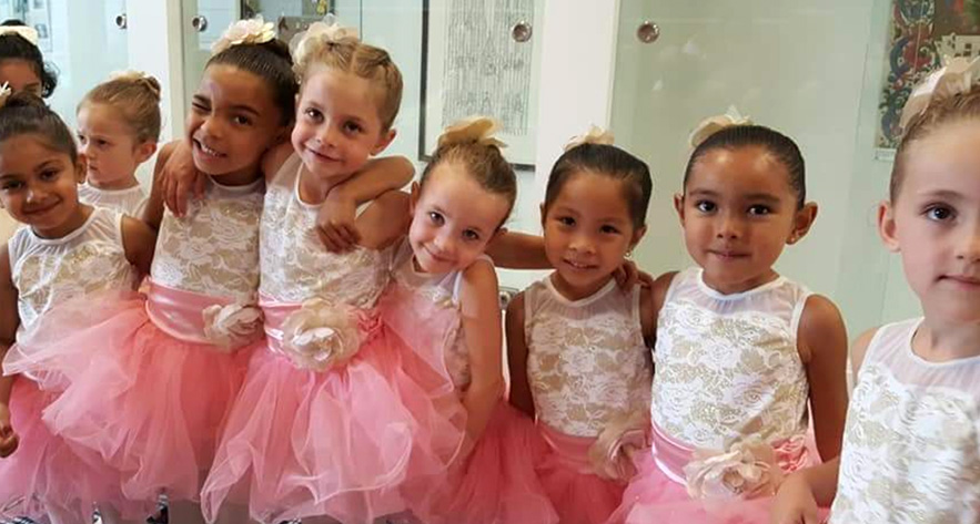 Preschool Dance Class at Dance Theatre International in San Jose CA